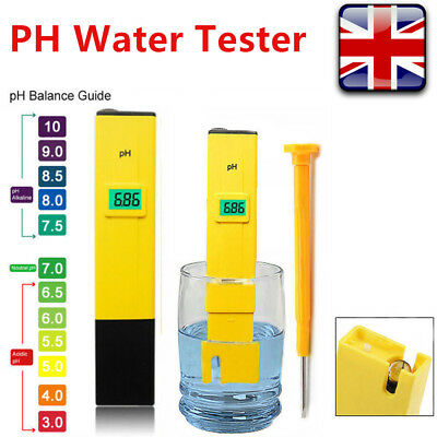 Pocket Digital Electric PH Meter Tester Hydroponics Aquarium Water Test Pen BBT