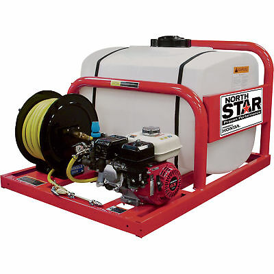 NorthStar Pest Control Skid Sprayer- 100- Gallon Tank, 160cc Honda GX160 Engine