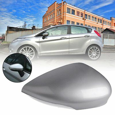Right Driver Side Wing Door Mirror Cover Cap Housing For Ford Fiesta MK7 08-17
