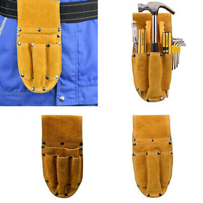 Many Pockets Tool Bag Utility Waist Hanging Electrician Screwdriver Pouch