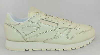 84d4f7499937 WOMENS REEBOK CLASSIC Leather Pastels Yellow Trainers RRP £59.99 ...