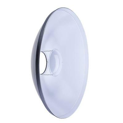 """Glow 22"""" White Beauty Dish for Norman Mount #GLBD22WNM3"""