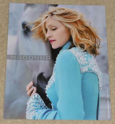 "MADONNA Drowned World Tour OFFICIAL COLOUR PRINT 10"" x 8"" / 20 x 25 cm MINT!!"