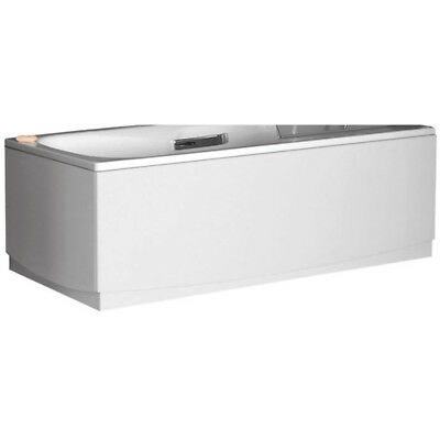 Bathroom High Gloss White Bath End Panel JUPE (D) 900mm with Adjustable Plinth