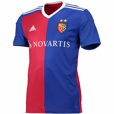FC Basel Football Home Jersey Shirt Tee Top 2018 19 Mens adidas