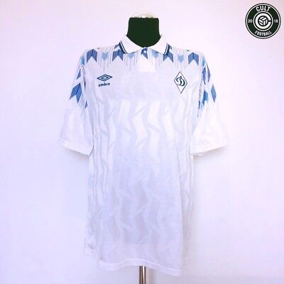 DYNAMO MOSCOW Vintage Umbro Home Football Shirt Jersey 1990/91 (L)