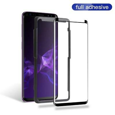3D Full Adhesive Glue Tempered Glass Protector for Samsung S8 S9 Plus Note 8 9