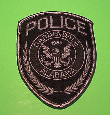 Gardendale  Alabama  1955  Al  Subdued  Police Dept. Patch  Free Shipping!!!