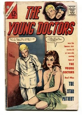 Young Doctors #3 1963-Charlton Silver Age-Spicy GGA cover