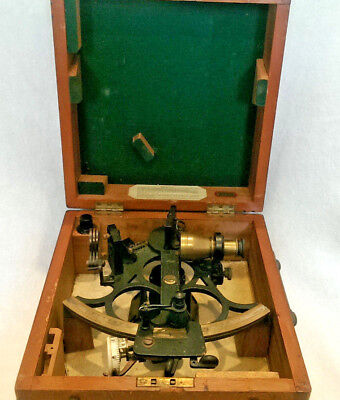 Vintage Sextant manufactured by B.Cooke and Son of Hull Ltd with Box