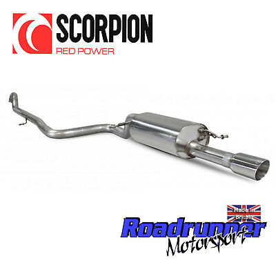 Scorpion Fiesta ST-Line 1.0T MK8 Exhaust Cat Back Non Resonated Louder - SFDS088