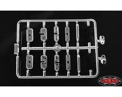 RC4WD Chevrolet Blazer Chrome Handles and LED Holder Parts Tree RC4ZB0104