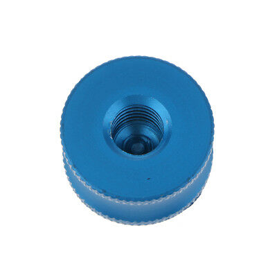 """1/4"""" to 3/8"""" Male to Female Adapter Screw for Tripod Ball Head Monopod Blue"""