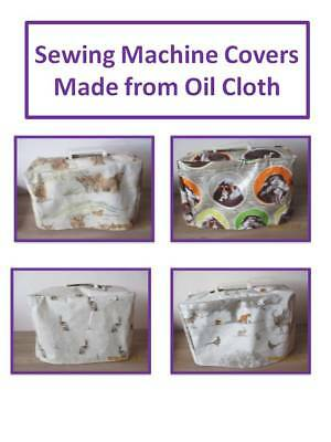 Sewing Machine Dust Cover - Gift Idea - Made From Oil Cloth