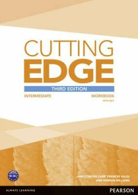 Cutting Edge 3rd Edition Intermediate Workbook with Key 9781447906520