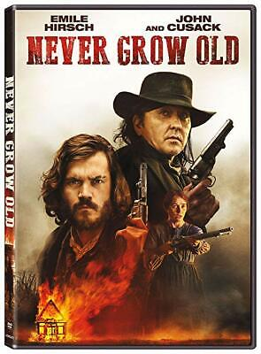Never Grow Old Dvd (2019)Brand New Factory Sealed Free Shipping