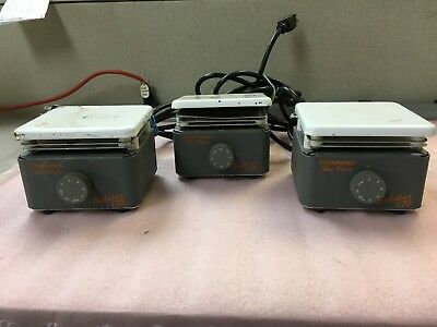 Lot of 3 Corning Hotplate Scholar 170 Laboratory Hot Plate As-Is For Parts O5670