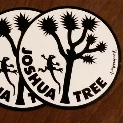 Two Stickers - Joshua Tree - Nice - 3.5in - National Park - FREE ship  climbing