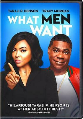 What Men Want Dvd (2019) Pre Sale Free Shipping 5/7/2019 Usa Seller