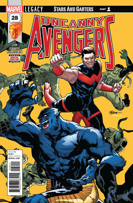 Uncanny Avengers #28 Marvel Legacy - 1St Print - Bagged And Boarded. Free Uk P+P