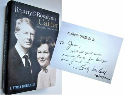 JIMMY AND ROSALYNN CARTER GEORGIA YEARS 1924-1974 Signed E. Stanly Godbold Jr.
