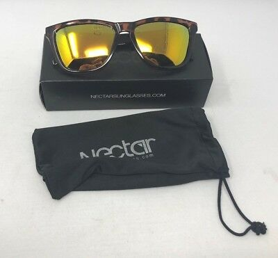 af7d83359a Nectar Polarized Sunglasses  Bombay - Brown Tortoise   Orange Crush - NEW -