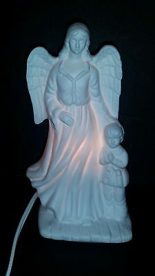Lefton China  Angel With Child 1986 Trade Mark Exclusives Japan
