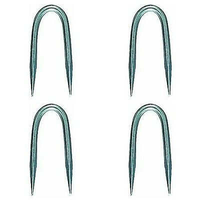 "4 Pack Gate Hook Wire Staples 2 1/2"" 247759 Old Fashioned Style"