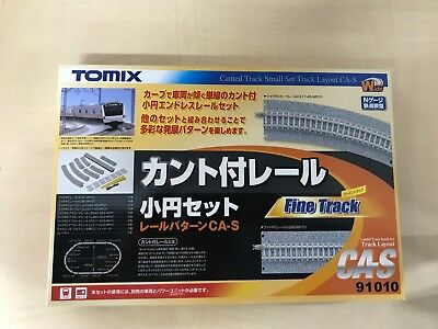 TOMIX N scale with cant rail small circle set CA-S 91010 railroad model goods