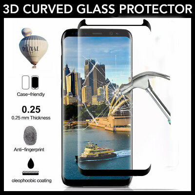 2PCS Samsung Galaxy Note 8/ S9/S9 Plus/S8 Plus Tempered Glass Screen Protector
