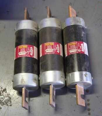 Lot of 3 Bussmann FRS-R-300 Time-delay Fuse  RK5 300 Amps 600 VAC/300 VDC EC1