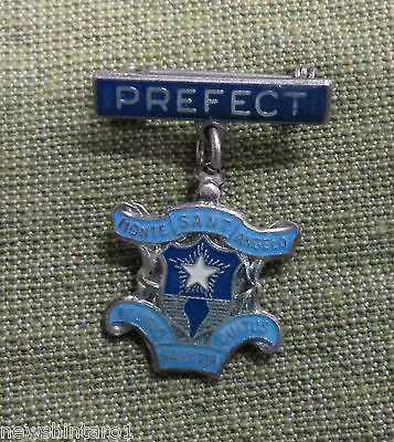 #d293. Monte Sant Angelo   School Prefect  Lapel Badge, North Sydney