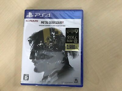 METAL GEAR SOLID V: GROUND ZEROES + THE PHANTOM PAIN - PS4 Japan
