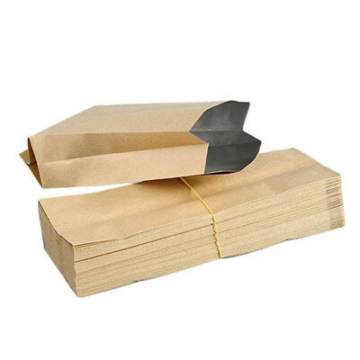50 Pcs Kraft Paper Bag Pouch Vintage Small Kraft Paper for gift bags Waterp X1S1