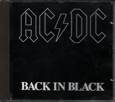 AC/DC - Back In Black  - CD - Made in Germany - Neuwertig -