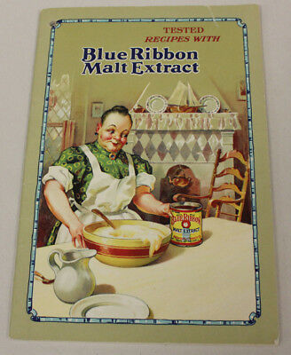 Blue Ribbon Malt Extract Recipe Booklet, 1928