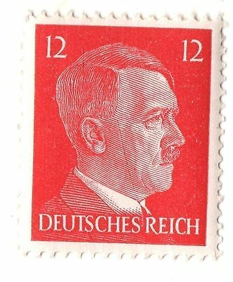 Rare Old Vintage German Leader WW2 Germany War Government Issue Collection Stamp
