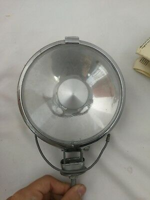 Raydyot DL92 Vintage Fog Lamp Pass Light Universal Bracket Manual Chrome Enamel
