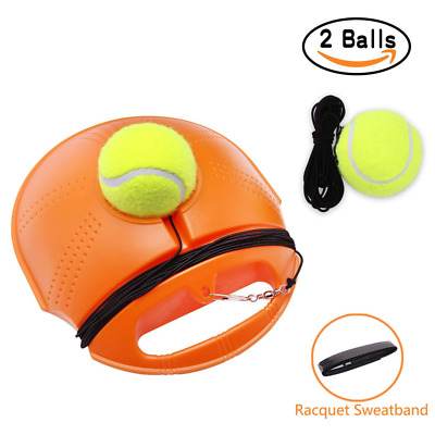 JUOIFIP Tennis Trainer Set Rebound Baseboard, Fill & Drill Self-study Practice T