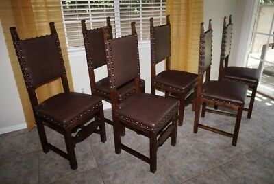 Antique Walnut Dining Chairs - ANTIQUE WALNUT DINING Chairs - $62.50 PicClick