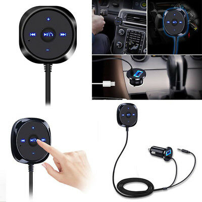 Wireless Bluetooth 40 Music Receiver 35mm Adapter Car AUX Speaker  UsefulP