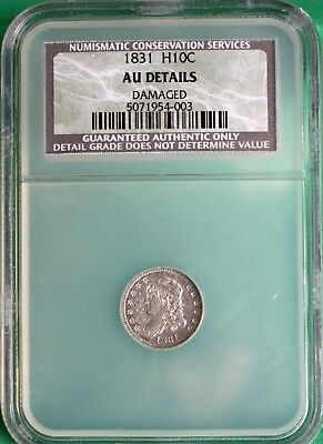 1831 Capped Bust Silver Half Dime United States Type Conservation Coin
