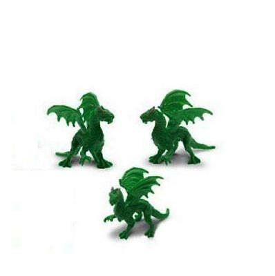 Doll House Shoppe 3 Toy Green Dragon SL348822 Micro-mini Miniature