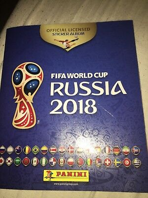 Lot 10 Images Panini Russia 2018