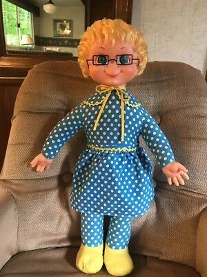 Curly Hair Mrs Beasley 1967 By Mattel Restored To Talk And Cleaned