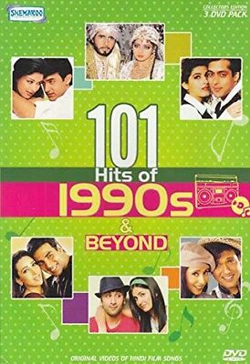101 HITS OF 1990s & Beyond Hindi Songs DVD 1990s Popular