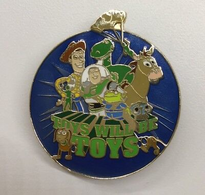 Disney Pin Toys Will Be Toys Toy Story Woody Bullseye Rex Toy Story Pin Rare Toy