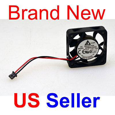 Brand New Delta EFB0412VHA 40x40x10 MM 12V 8000 RPM 2Pin Fan