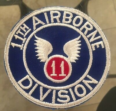 WW2 11th Airborne Division Jacket Patch