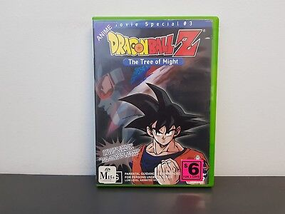 "Dragon Ball Z - Movie Special #3: ""The Tree of Might"" - Anime DVD"